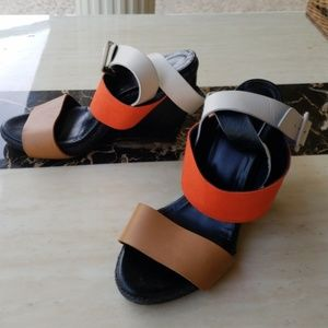 321acad1807b Pierre Hardy Shoes - Gorgeous authentic Pierre Hardy colorblock wedges